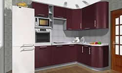 ᐈ кухни на заказ киев заказать мебель для кухни по размерам